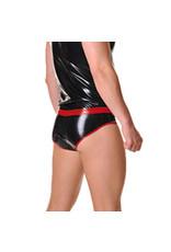 RoB Gummi Unterhose mit roten Streif