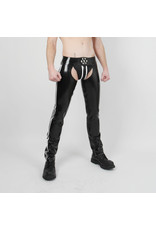 RoB Rubber chaps met witte strepen