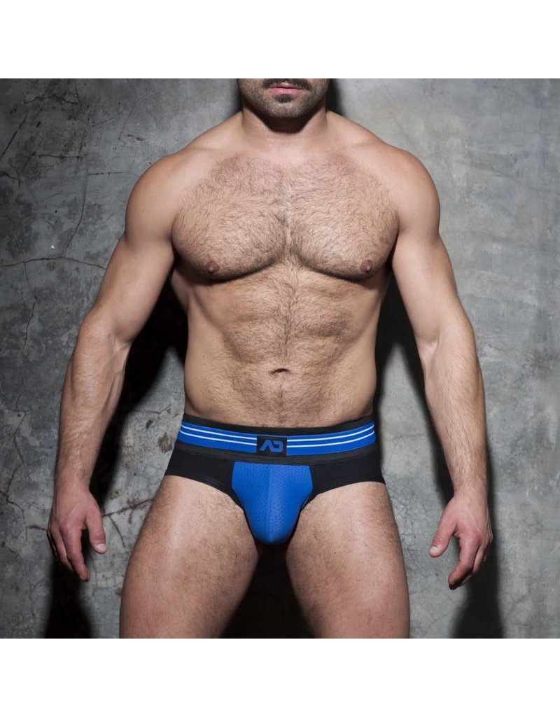 Addicted Double Stripe Brief Black/Blue