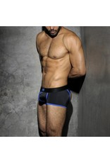 Addicted Stripe Fetish Boxer Black/Blue