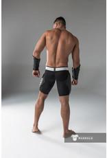 Maskulo Shorts Black Closed Rear