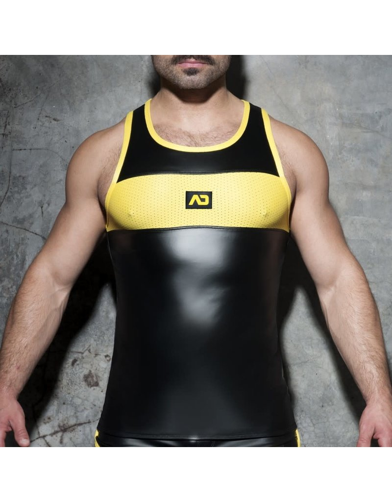 Addicted Rub Combi Tank Top black/yellow