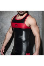 Addicted Rub Combi Tank Top black/red
