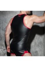 Addicted Rub Combi Tank Top black/red