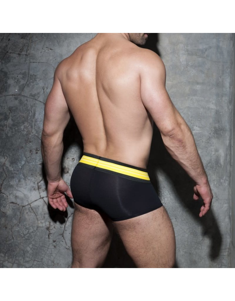 Addicted Double Stripe Trunk Black/Yellow