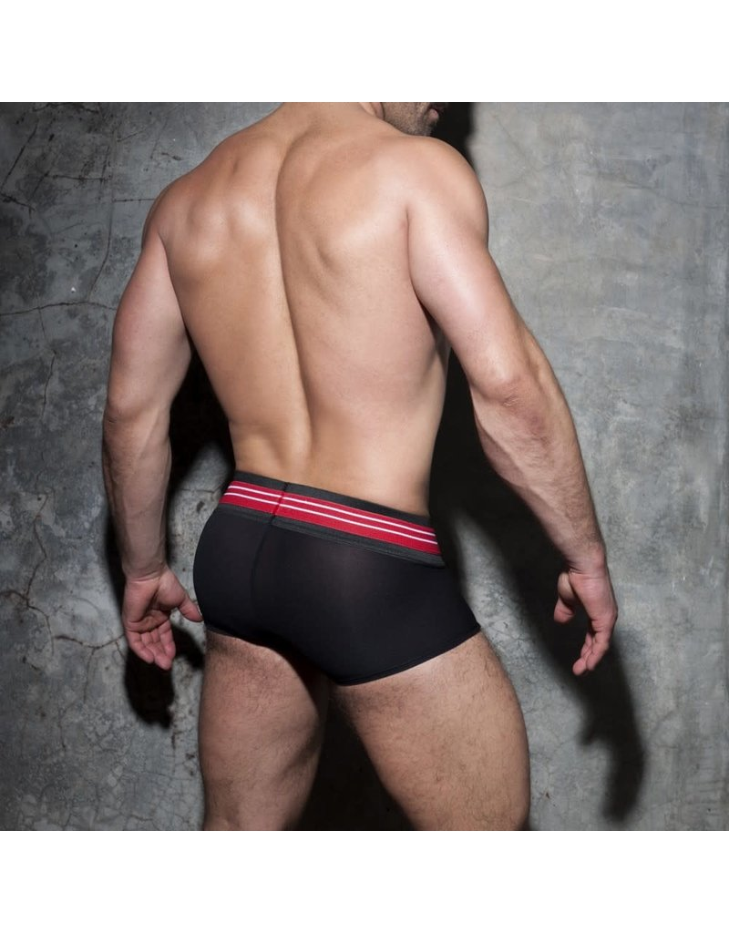 Addicted Double Stripe Trunk Black/Red