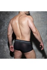 Addicted Double Stripe Trunk Black/White
