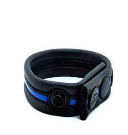 665 Neoprene Racer Gun Strap Black/Blue