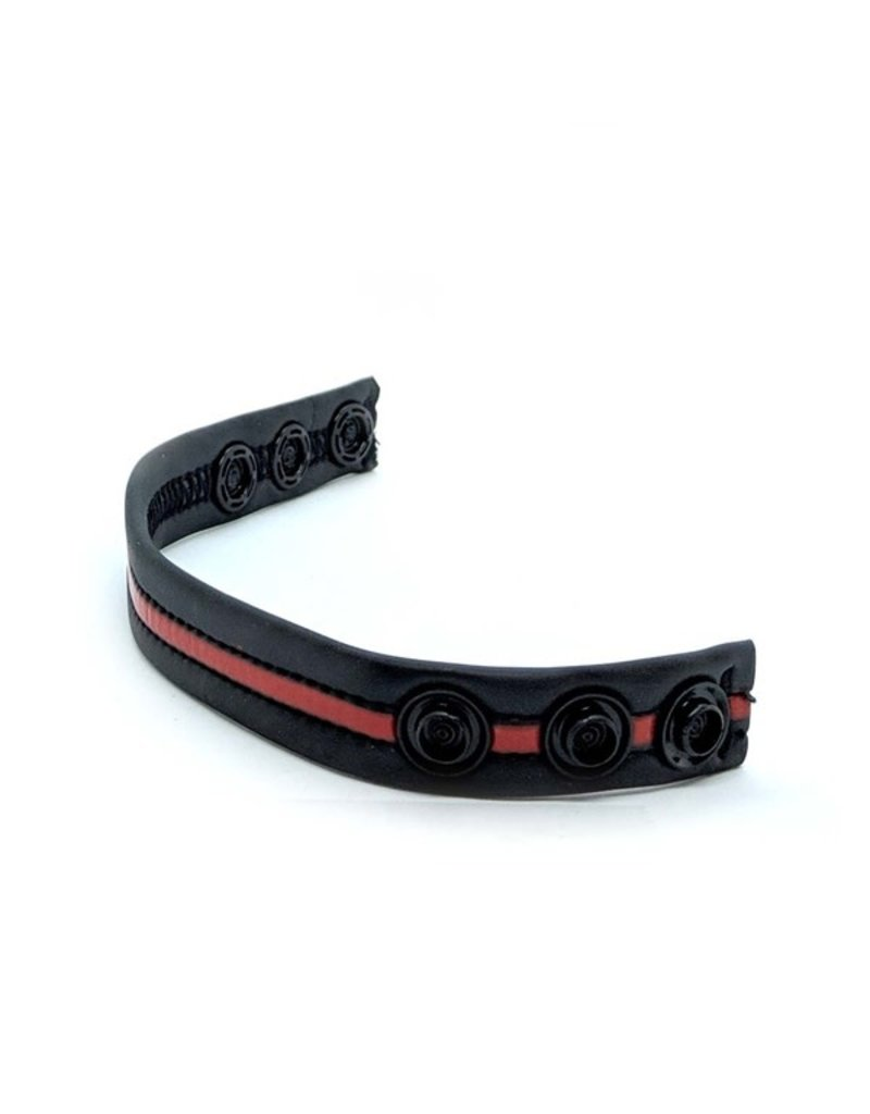 665 Neoprene Racer Gun Strap Black/Red