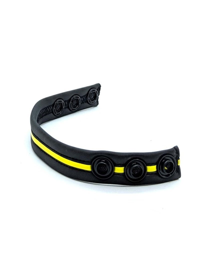 665 Neoprene Racer Gun Strap Black/Yellow