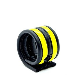 665 Neoprene Racer Ball Strap Black/Yellow