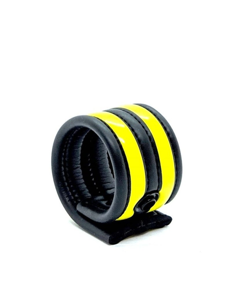 665 Neoprene Racer Ball Strap Black/Yellow