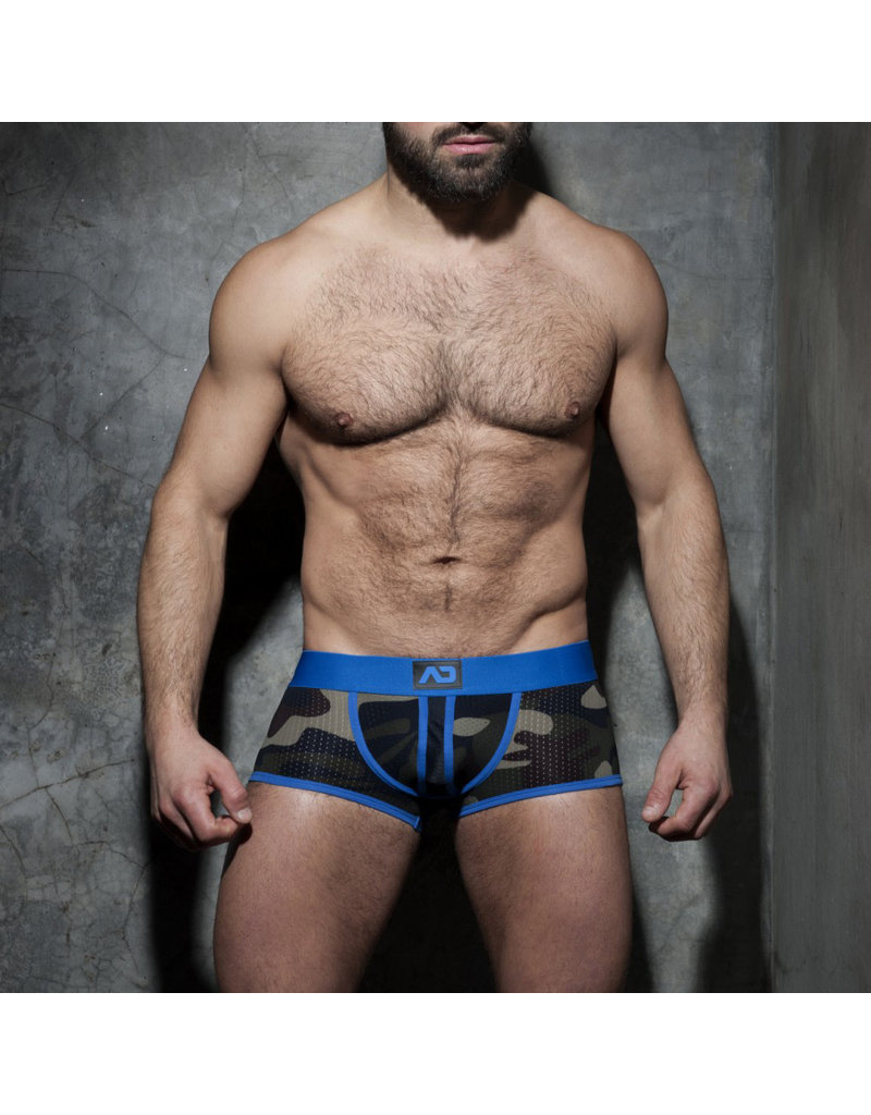 Addicted Camo Stripe Boxer Blue