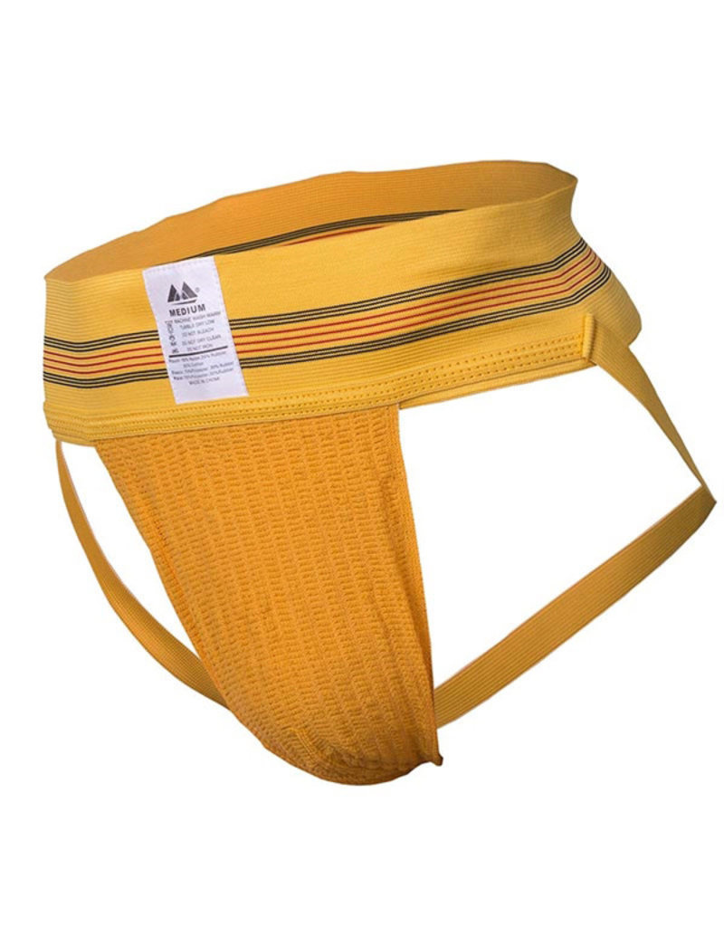 "Jockstrap 3"" band geel"