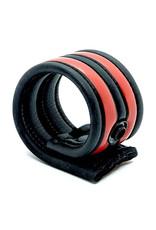 665 Neoprene Racer Ball Strap Black/Red