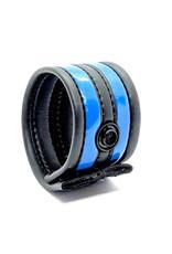 665 Neoprene Racer Ball Strap Black/Blue
