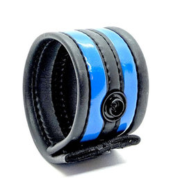 665 Neoprene Racer Ball Strap Black/Blue