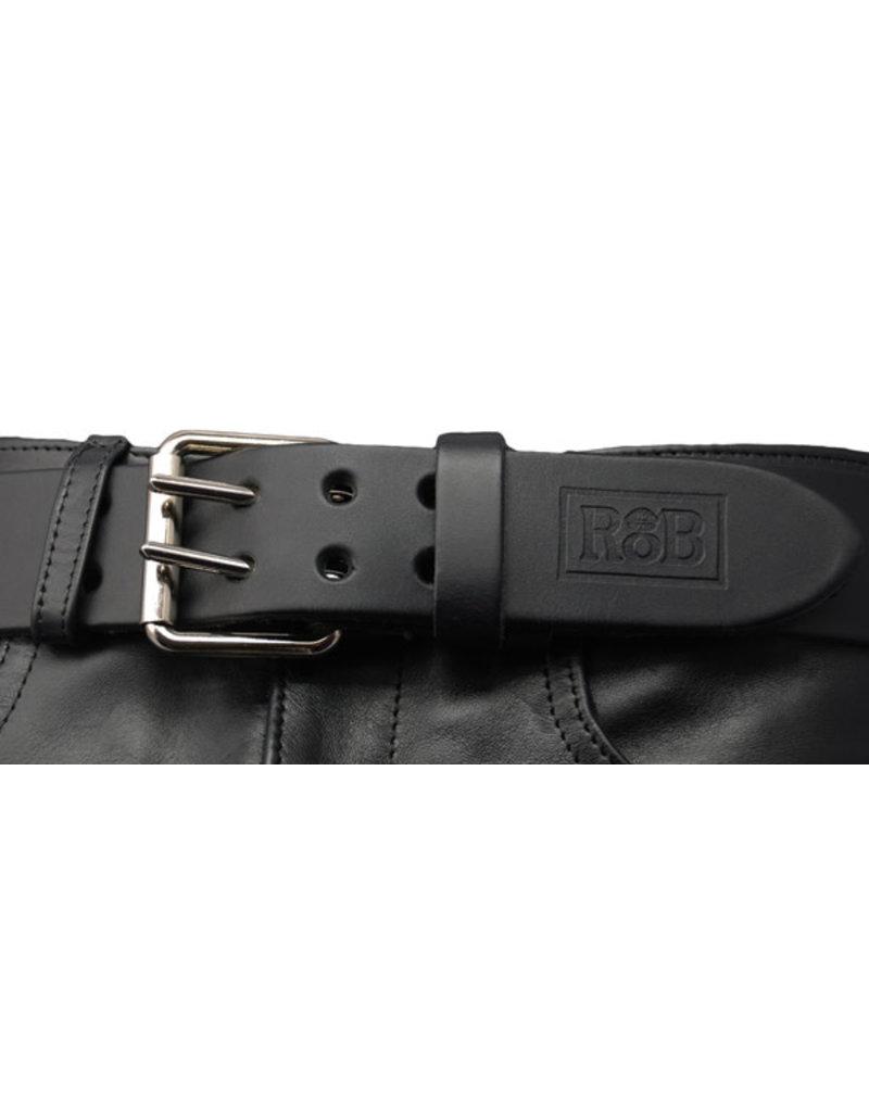 RoB Ledergürtel mit Doppelschnalle