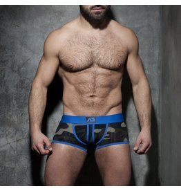 Addicted Camo stripe fetish boxer blue