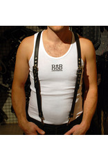 RoB Leather Braces 3,1 cm wide with clip