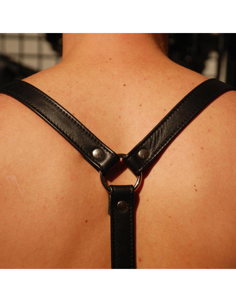 RoB Leder Hosenträger 3,1 cm breit mit Clip