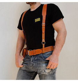 RoB Leather Braces light brown