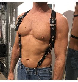 RoB Phalanx Harness schwarz mit schwarz