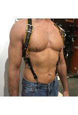 RoB Phalanx Harness schwarz mit gelb