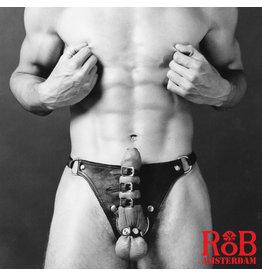 RoB Tie up cock harnas, volledig instelbaar