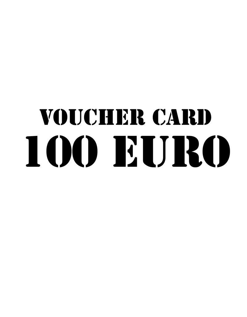 Voucher card 100 euro