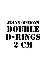 RoB Leather option: Double D-rings 2 cm