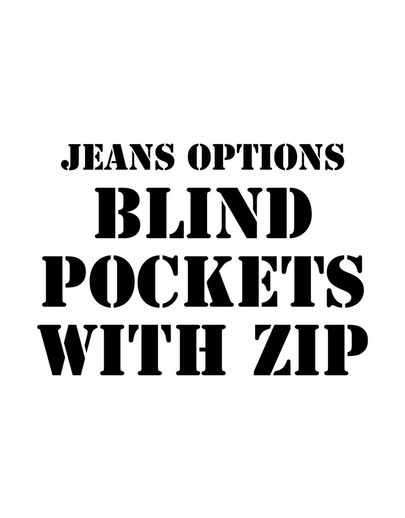 RoB Leather option: Blind Pockets with Zip