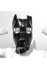 RoB Leather puppy mask with detachable snout
