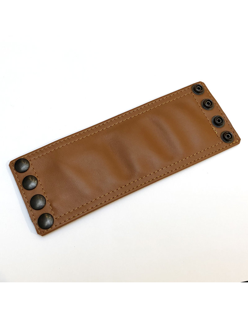 RoB Leather Wrist Wallet brown