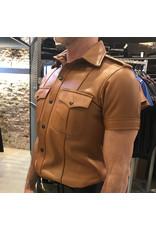 RoB Light Brown Leather Police Shirt