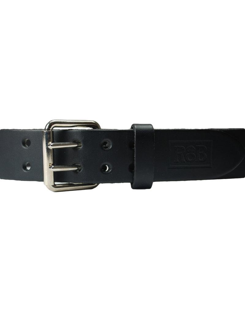 RoB Ledergürtel 5 cm mit Doppelschnalle