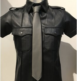 RoB Leather Tie grey