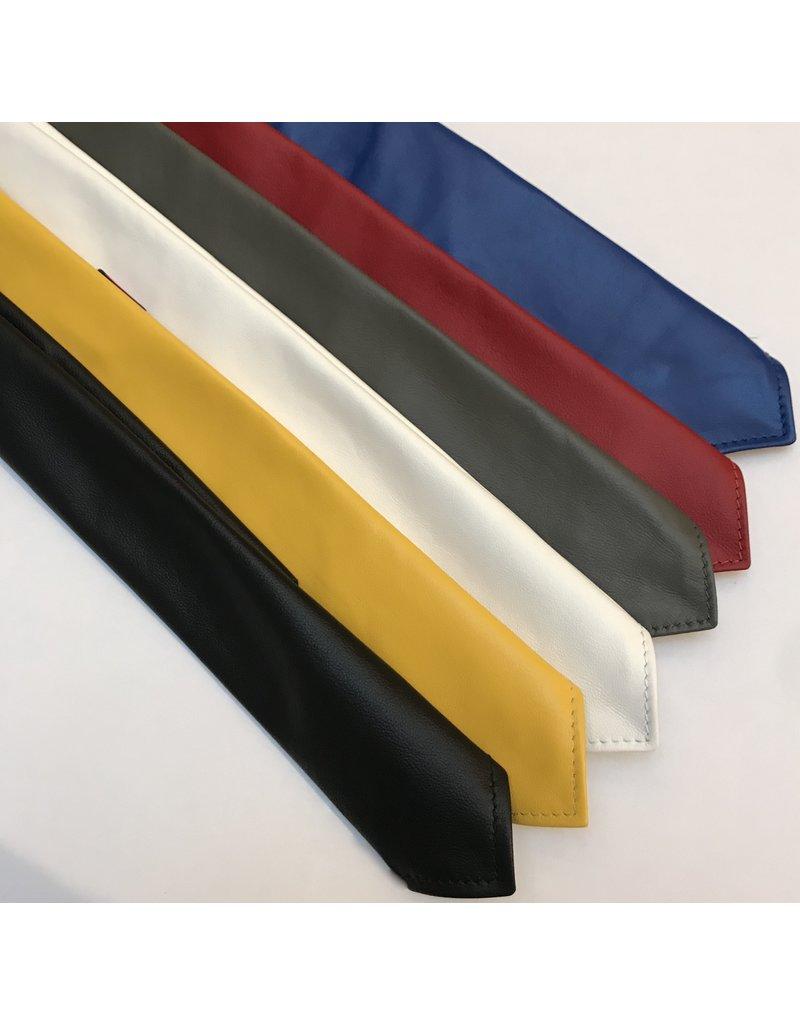 RoB Leather Tie yellow