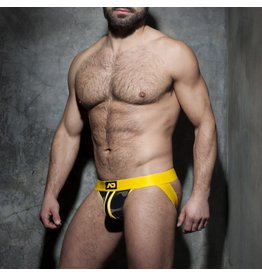 Addicted Camo Jock Yellow Stripe