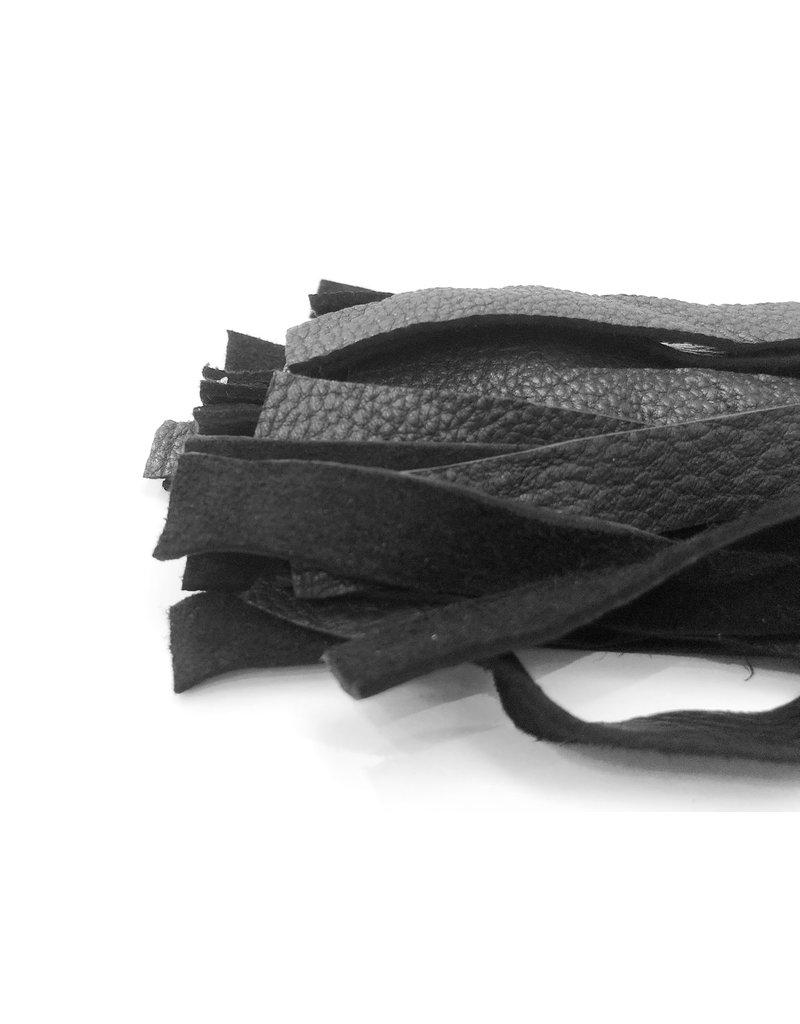 Bare Leatherworks Midsize Flogger Hertenhuid 30 strengen