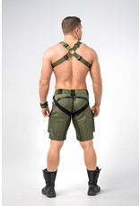 Maskulo EnForce Bulldog harness dark olive