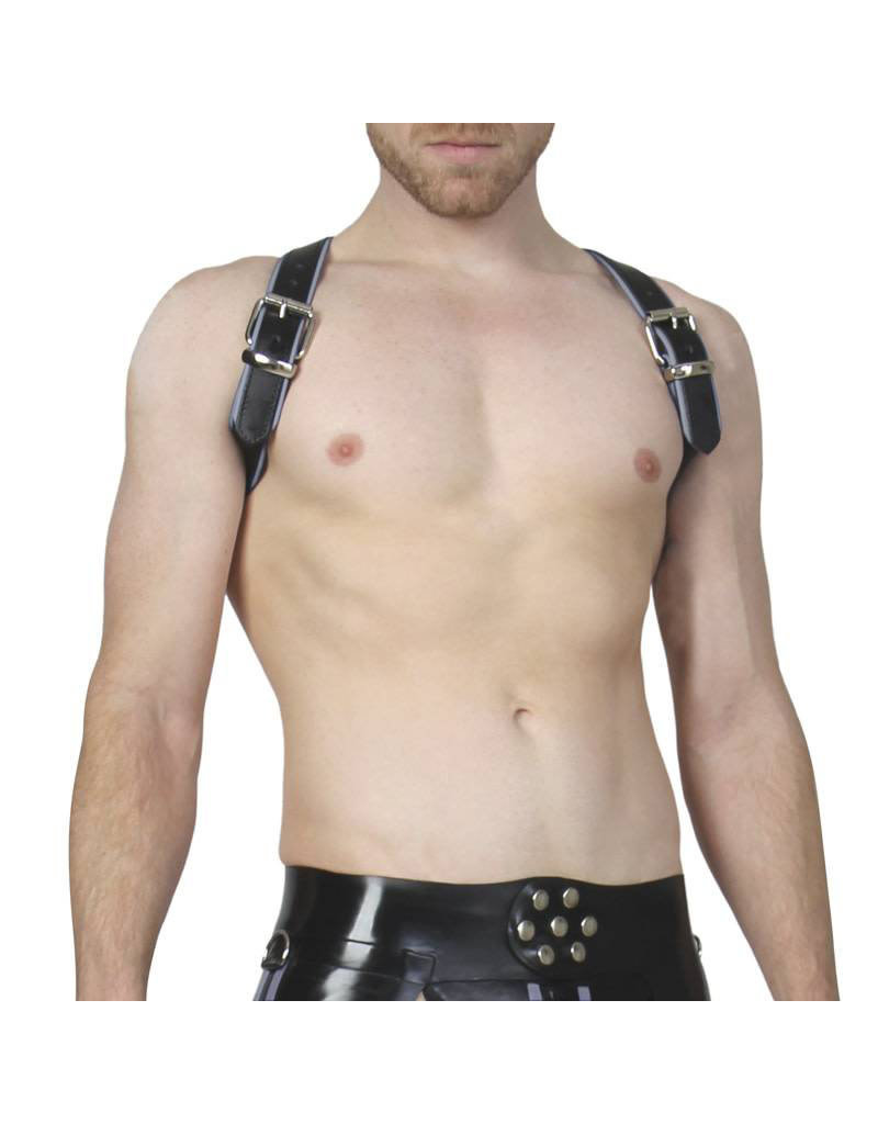 RoB Shoulder Harness Grey Piping, buckle