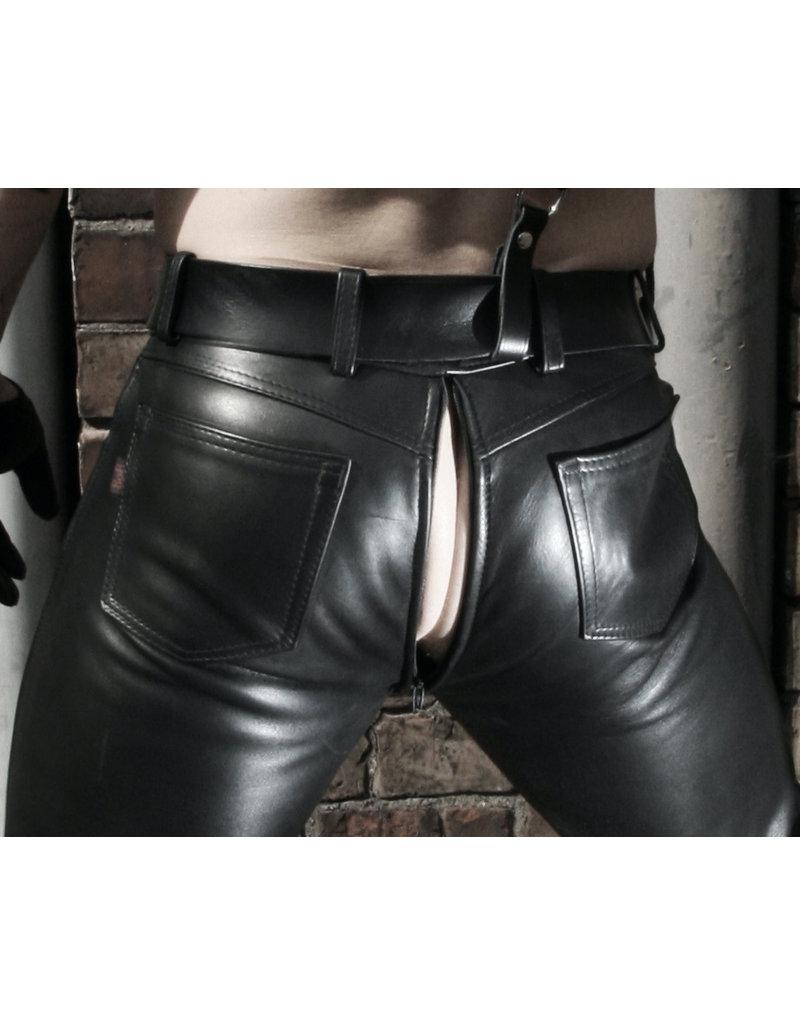 RoB Hipster Jeans Slim Fit mit durchgehender Reißverschluss