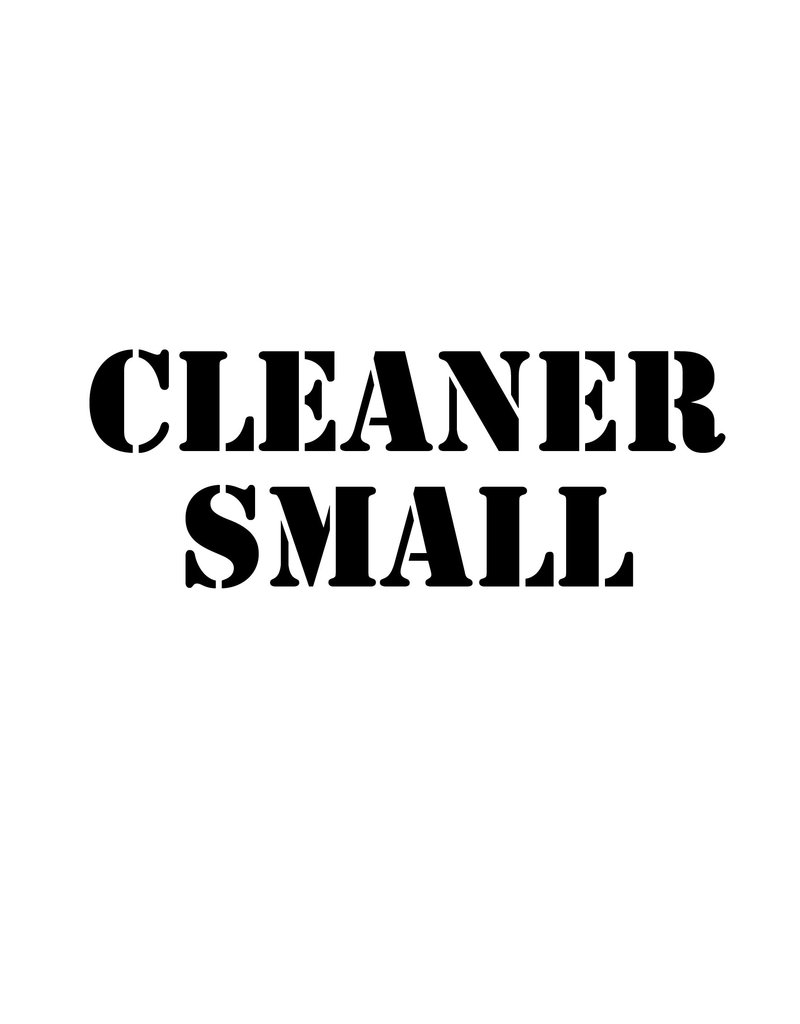 cleaner Small