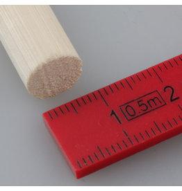 10 mm Rohrstock, geschält