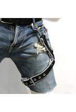 RoB Thigh harness black on white