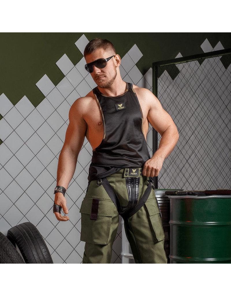 Maskulo Enforce Mesh Tanktop black
