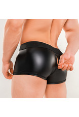 Maskulo Armored Next trunks with backzip black