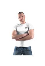 RoB T-Shirt Weiss mit schwarzem Logo