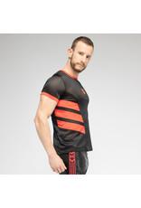 Maskulo Skulla Mesh T-shirt Red